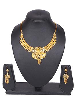 Gold Traditsiya Necklace Set