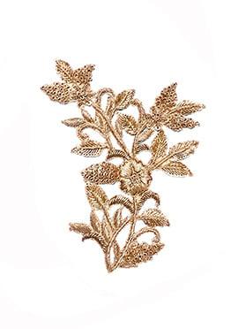 Gold Zardosi Handwork Motif
