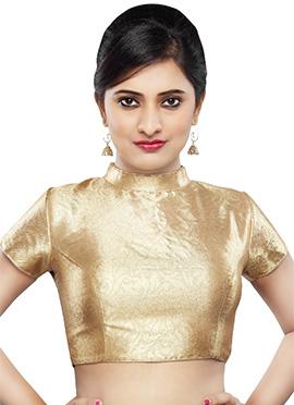 Golden Art Dupion Silk Blouse