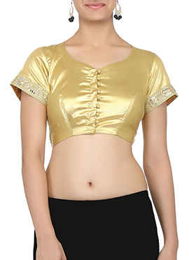 Golden Color Blouse
