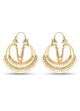 Golden Color Chaand Bali Earring