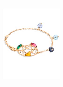 Golden Color Chain Bracelet