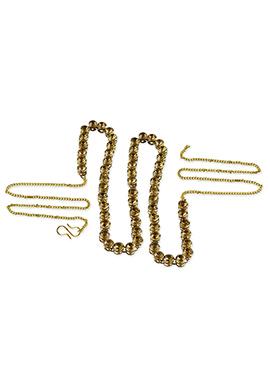 Golden Color Stone Studded Saree Belt
