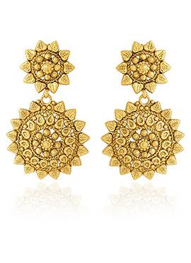 Golden Colored Dangler Earring