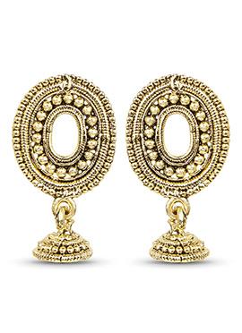 Golden Dangler Earring