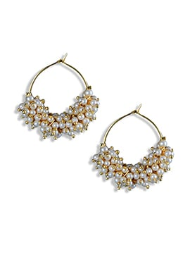Golden Hoops Earring