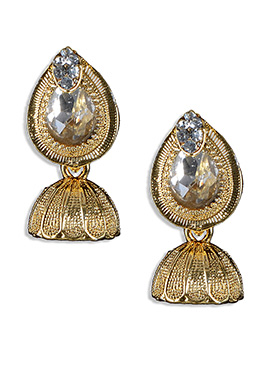 Golden Jhumka Earring