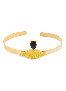 Golden N Black Bracelet