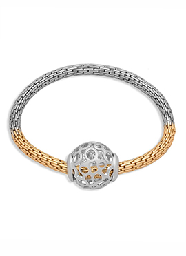 Golden N Silver Bracelet