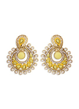 Golden N Yellow Colored Chand Balis