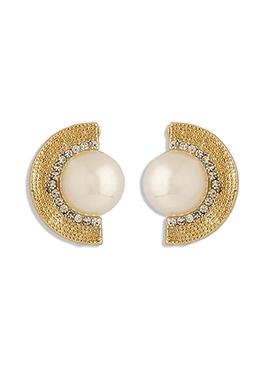 Golden Studs Earring