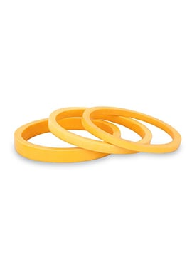 Golden Yellow Bangle Bracelet