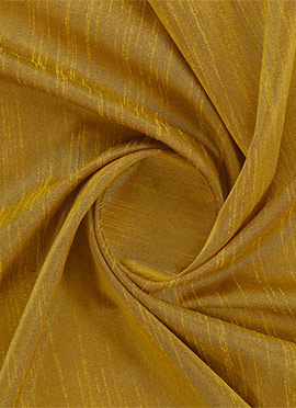 Golden Yellow Dupion Silk Fabric