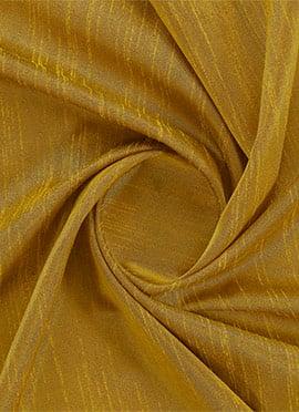 Golden Yellow Dupion Silk Fabric