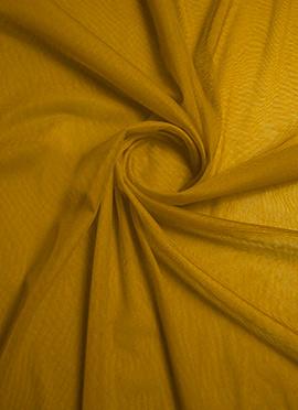 Golden Yellow Net Fabric