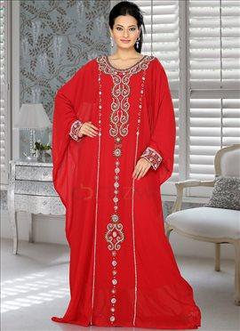 Grandstand Red Farasha Fustan