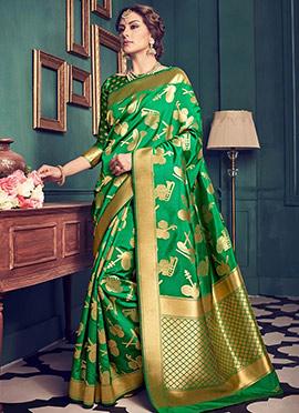 Green Art Kancheepuram Silk Saree
