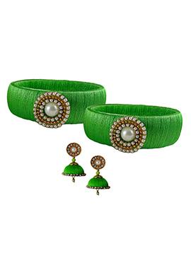 Green Bangles Combo