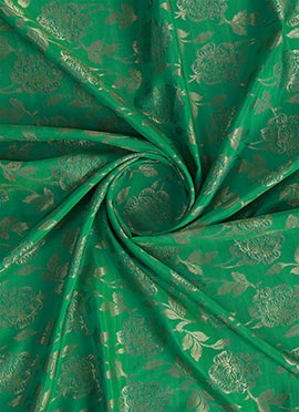 Green Soft Silk Fabric