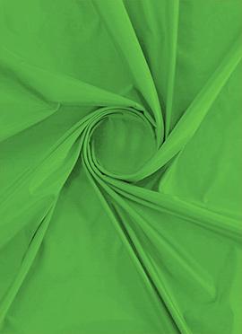 Green Flash Soft Silk Fabric