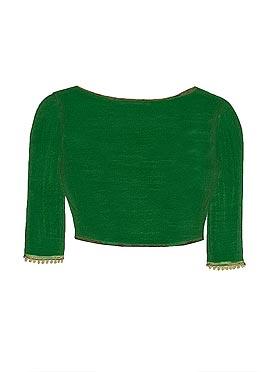 Green Georgette Blouse