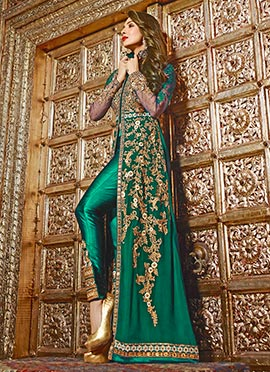 Malaika Arora Green Straight Pant Suit