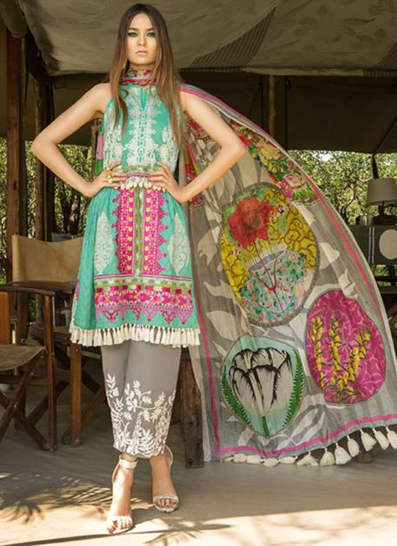 Deepsy Sana Safinaz Lawn 21 Fancy Pakistani Suit catalog
