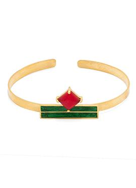Green N Red Bracelet