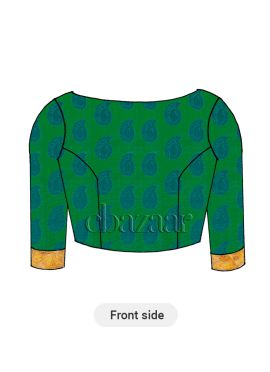 Green Traditional Blouse