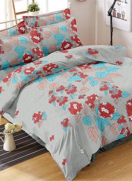 Grey Cotton Bed Sheet