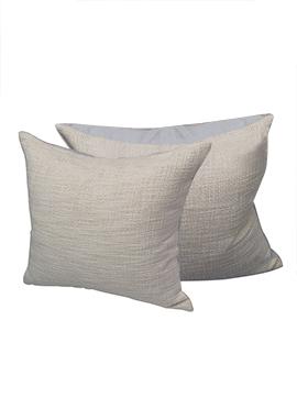 Grey Cotton Cushion Cover