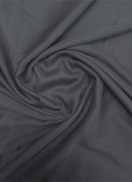 Grey Modal Satin Fabric