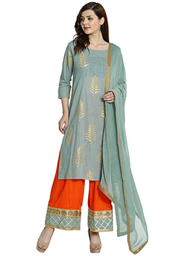 Palazzo Suit Buy Salwar Kameez Palazzo Suit Online Wedding
