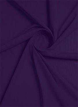 Greyish Acai Net Fabric