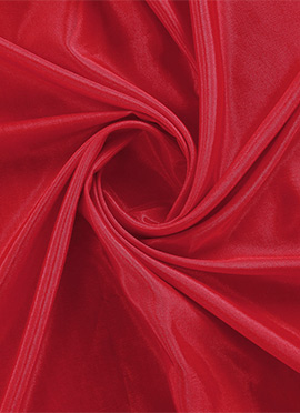 High Risk Red Santoon Fabric