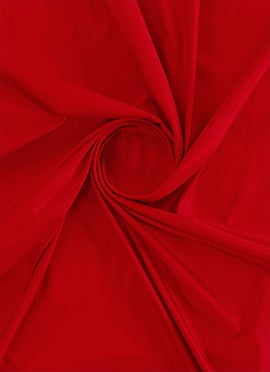 High Risk Red Soft Silk Fabric