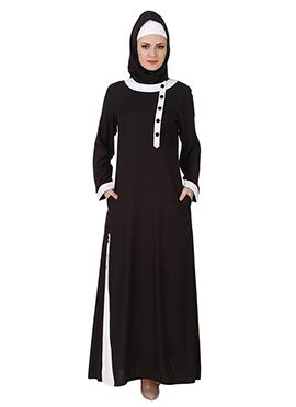 Jaza Rayon Black Abaya