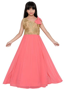 K And U presents Kids Anarkali Gown