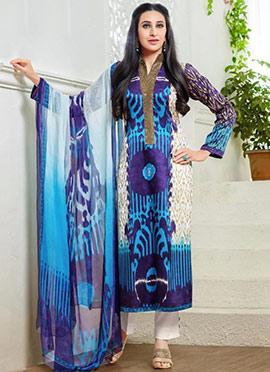 Karishma Kapoor Tricolor Pakistani Lawn Suit