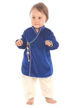 Kidology Blue Patiala Set