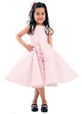 Kidology Pink Cluster Dress
