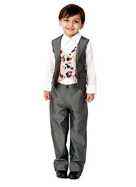 Kidology Printed Vest N Pant Set