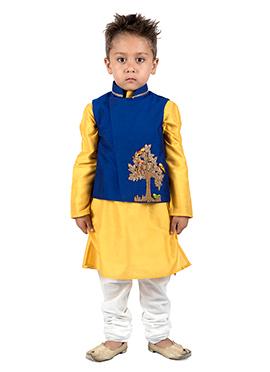 Kidology Royal Blue Kids Bandi Set
