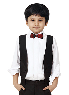 Kidology Tux Shirt with Vest