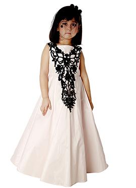 Kidology White Taffeta Gown