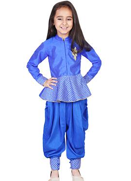 Kids Chiquitita Blue Dress