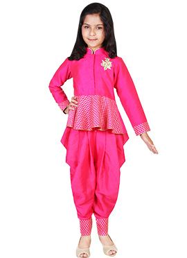 Kids Chiquitita Fuchsia Pink Dress