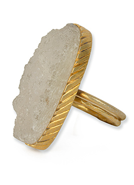 Kista Gold Plated Ring