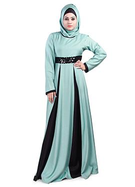 Labibah Rayon Light Turquoise Abaya