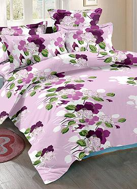 Lavender Cotton Bed Sheet
